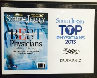 South Jersey TOP Physicians 2013